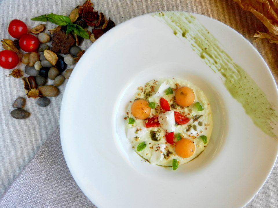 DSCN4235-960x720 Caprese al Melone Antipasti Estate Stagionali Vegetariani  summerfood ricette mozzarella di bufala melone estate cucina con giò cibo caprese