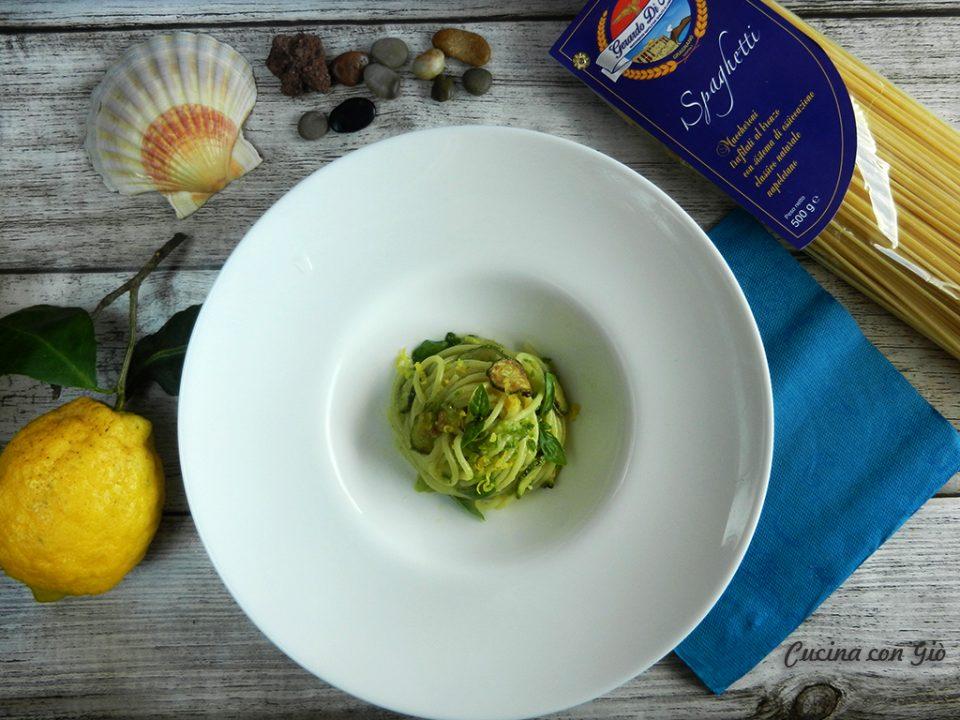 DSCN4312nerano-960x720 Spaghetti alla Nerano Campania Cucina Regionale Estate Pasta Pasta secca Primi piatti Primi vegeteriani Senza categoria  zucchine spaghetti sorrento provolone del monaco provolone pasta di Gragnano pasta Nerano limoni gerardo di nola estate costiera amalfi