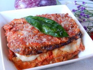 DSCN4598-320x240 Parmigiana di melanzane Campania Cucina Regionale Piatti Unici Vegetariani  ricette parmigiana perfetta parmigiana di melanzane parmigiana melanzane cucina con giò