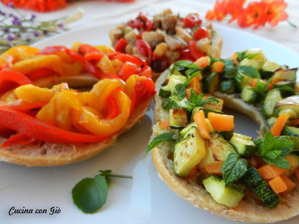DSCN4604-1-960x720 Frisellove #4 - Friselle con verdure Antipasti Estate Healthy Secondi Piatti Vegan Friendly Vegetariani  zucchine peperoni melanzane frisella cucina con giò