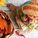 Independence Burger – Panino Americano con Hamburger di Black Angus
