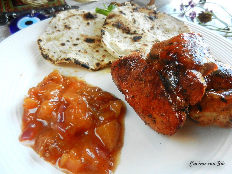 DSCN4835ccg-960x720 Spezzatino di maiale con chutney di albicocche Cucina Etnica India Secondi di carne  tandoori india curry madras cucina con giò chutney chapati