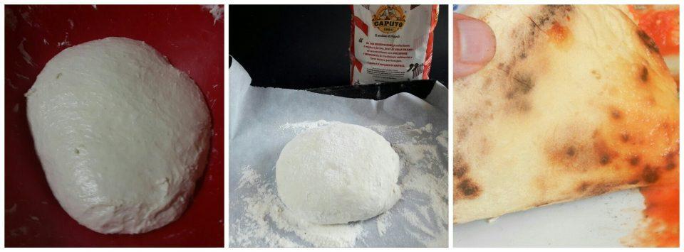 Pizza napoletana in casa senza forno a legna
