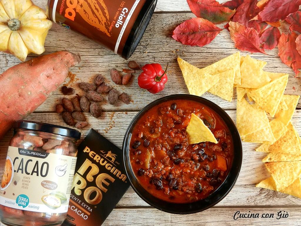 DSCN5357ccg Chili con carne al cioccolato Cucina Etnica Messico Piatti Unici Secondi di carne Secondi Piatti  tex-mex messico eurochocolate cucina messicana cucina etnica cucina con giò cioccolato chilli chili con carne chili al cioccolato chili cacao