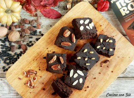 Black Bean Brownies: con fagioli neri e cioccolato