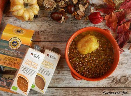 #Detox – Zuppa di lenticchie curcuma e zenzero