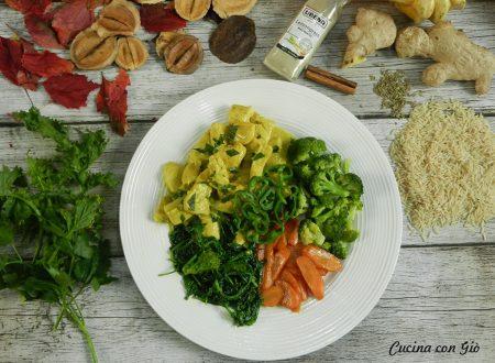 Pollo al latte di cocco e curry con verdure
