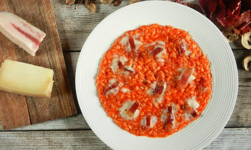 Risotto all'amatriciana