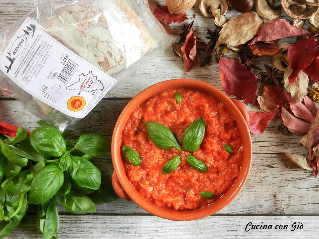 DSCN5643ccg Pappa al pomodoro Cucina Regionale Secondi Piatti Toscana Vegan Friendly Vegetariani  toscana piatti tipici pappa al pomodoro cucina regionale cucina contadina cucina con giò