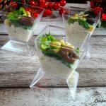 Baccalà mantecato e scarola con olive e pinoli