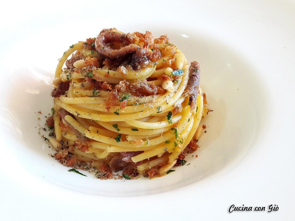 Spaghettoni ai profumi di Sicilia
