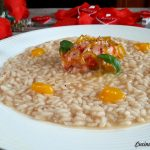 Risotto Red Passion – Gambero rosso e Passion fruit